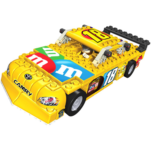 K'NEX Nascar Car Building Set, #18 M&M's