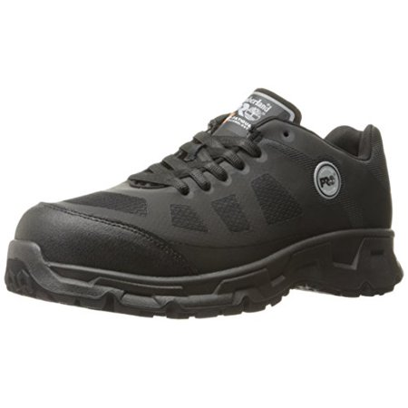 Timberland PRO Men's Velocity Alloy Safety Toe EH Industrial and Construction Shoe, Black Synthetic, 10 M US