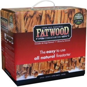 "UniFlame 10 Pounds Fatwood in Color Carton 10"" High (11 lbs.)"