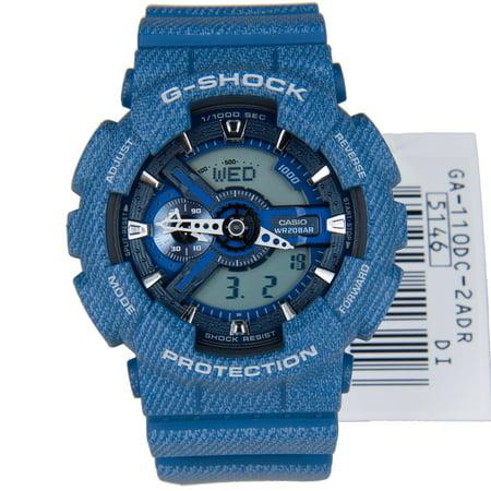 1eec4bfc49e Casio - Men s watch G-SHOCK DENIM D COLOR GA-110DC-2A - Walmart.com