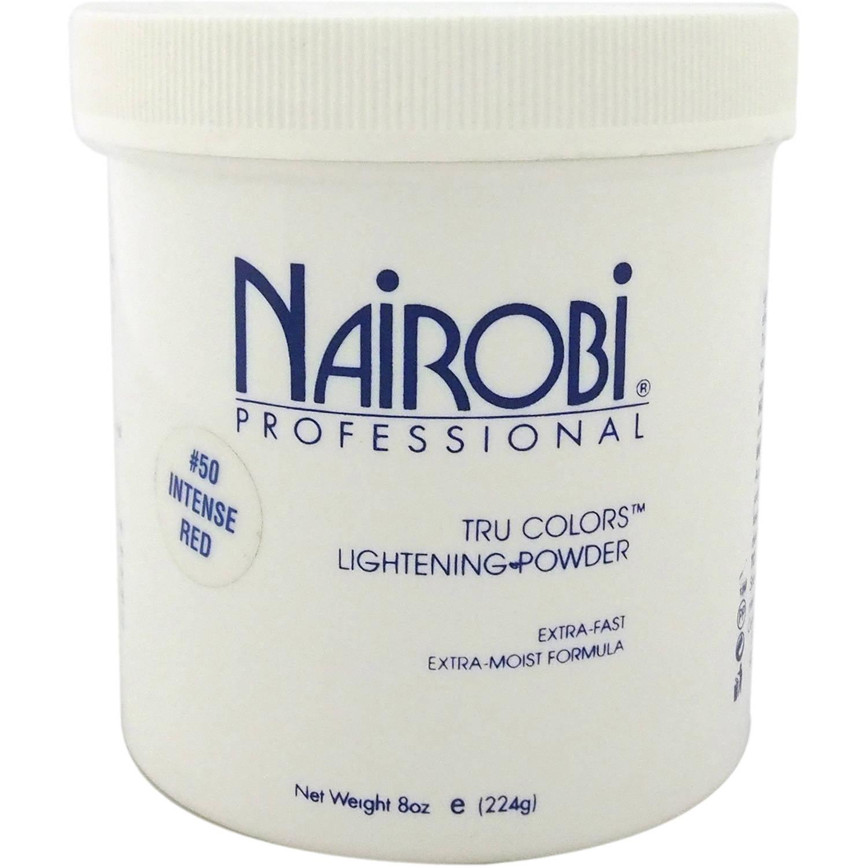 Nairobi Professional #50 Intense Red Tru Colors Lightening Powder, 8 oz