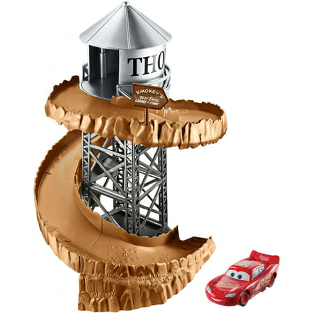 Disney/Pixar Cars 3 Spiral Mountain Track Playset with Stunt Action
