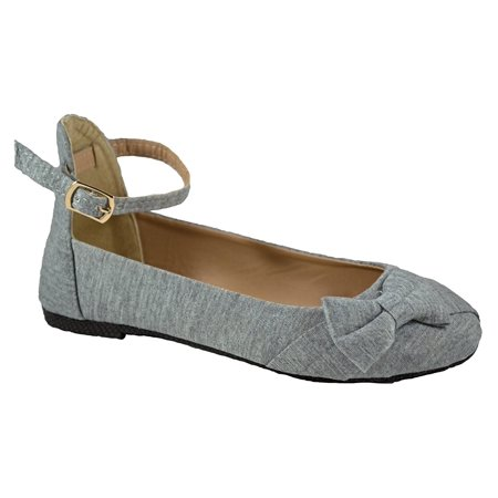 Shop Pretty Girl - Girls Flats Ballet Shoes For Kids and Toddlers Casual  Comfortable and Chic Canvas Flat with Ankle Strap Shoe Ballet Flat -  Walmart.com