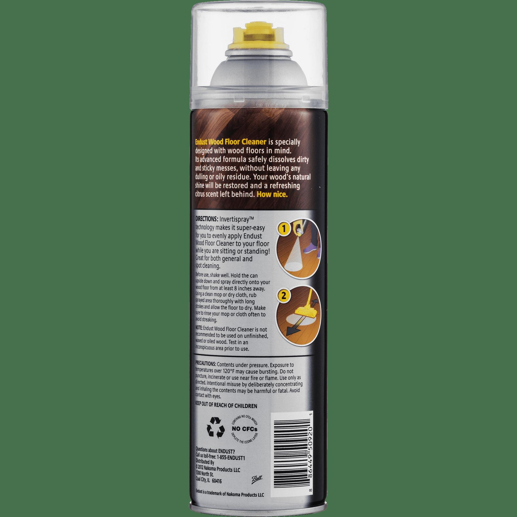 Endust Citrus Wood Floor Cleaner, 16 Oz - Walmart com