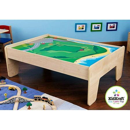 KidKraft Train Table, Natural - Walmart.com