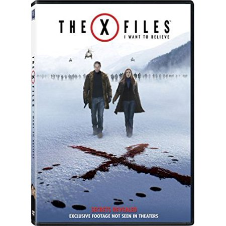 The X Files  I Want To Believe  Dvd