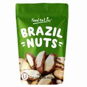 Food To Live Premium Brazil Nuts (1 Pound)