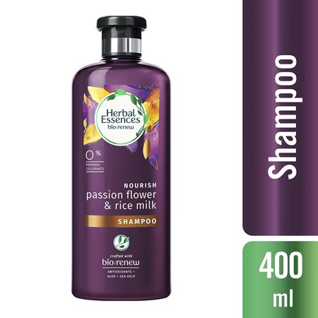 Herbal Essences bio:renew Passion Flower & Rice Milk Shampoo, (Chakra Flower Essences)