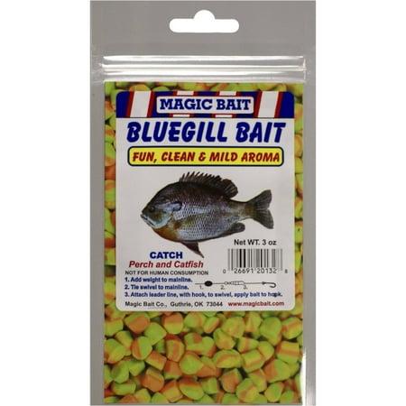 Magic Bait Bluegill Bait Fish Dough Bait