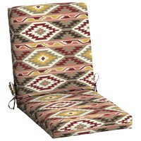 Mainstays Southwest Aztec 1 Piece Outdoor Dining Chair Cushion