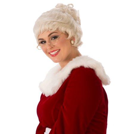 Mrs. Claus Deluxe Adult Wig](Mens Wigs For Sale)