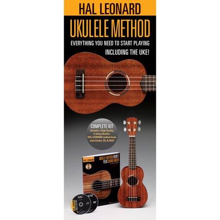 Hal Leonard Ukulele Starter Pack Method Bookcd Chord Finder And