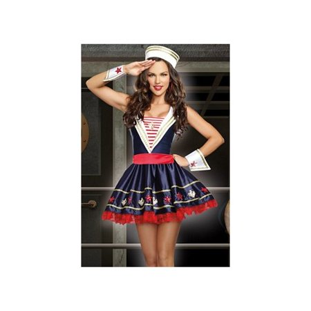 Shore Thing Costume 9439 by Dreamgirl Navy