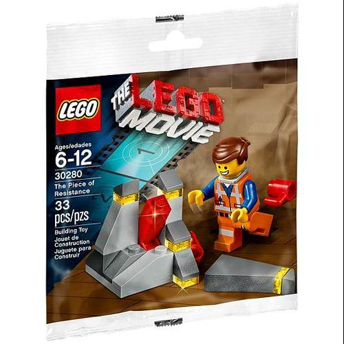 The Piece Of Resistance Lego Movie Set 30280 With Emmet Minifigure Walmart Com Walmart Com