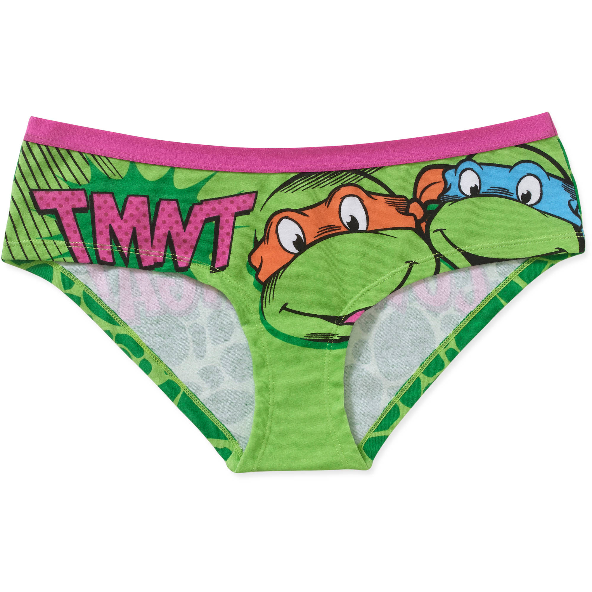 Teenage Muntant Ninja Turtles Juniors License Bikini Panty