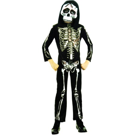Skeleton Boys Child Halloween Costume](Halloween Costumes Skeleton Gloves)