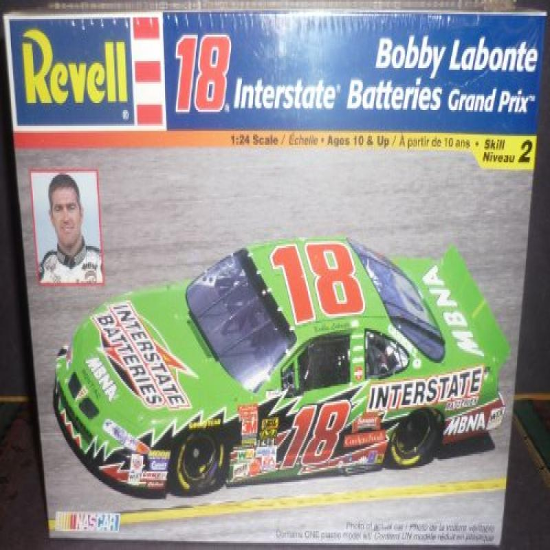 Revell 1:24 Scale 18 Interstate Batteries Grand Prix Bobby Labonte Model Car by