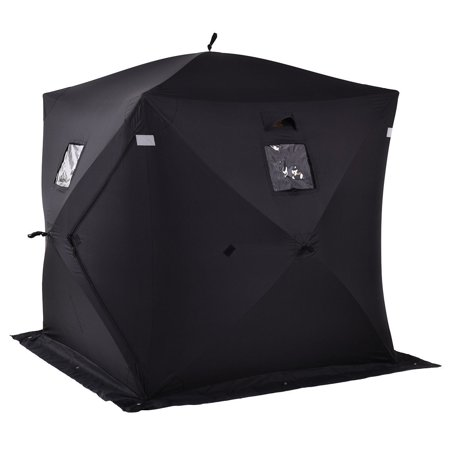 - 2-person Ice Fishing Shelter Tent Portable Pop Up House Outdoor Fish Equipment
