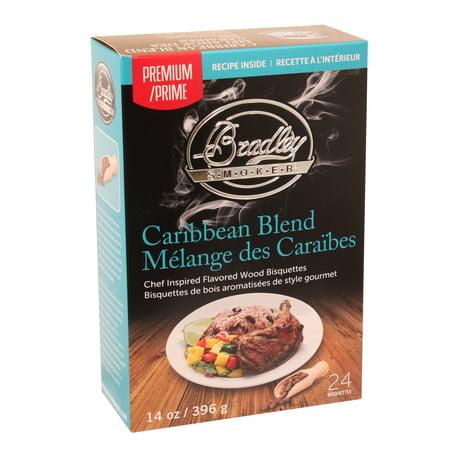 Bradley Smoker Premium Bisquettes - Caribbean Blend 24Pk