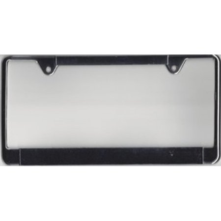 100a Service Panel (Chrome Thin Top Double Panel License Frame  100 pk)