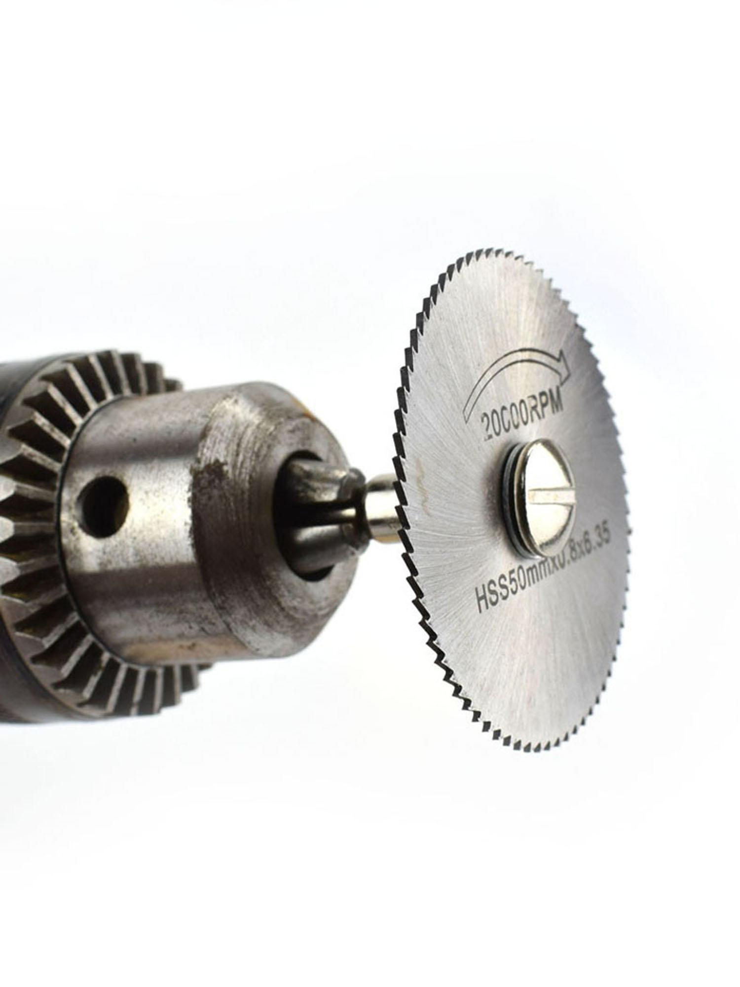 Cutting Discs Mini Circular Saw Blades Cutter Discs Mandrel Cutoff Pow 0.8-2inch