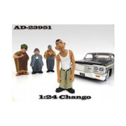 American Diorama 23951 Chango Homies Figure for 1-24 Scale Diecast Model Cars