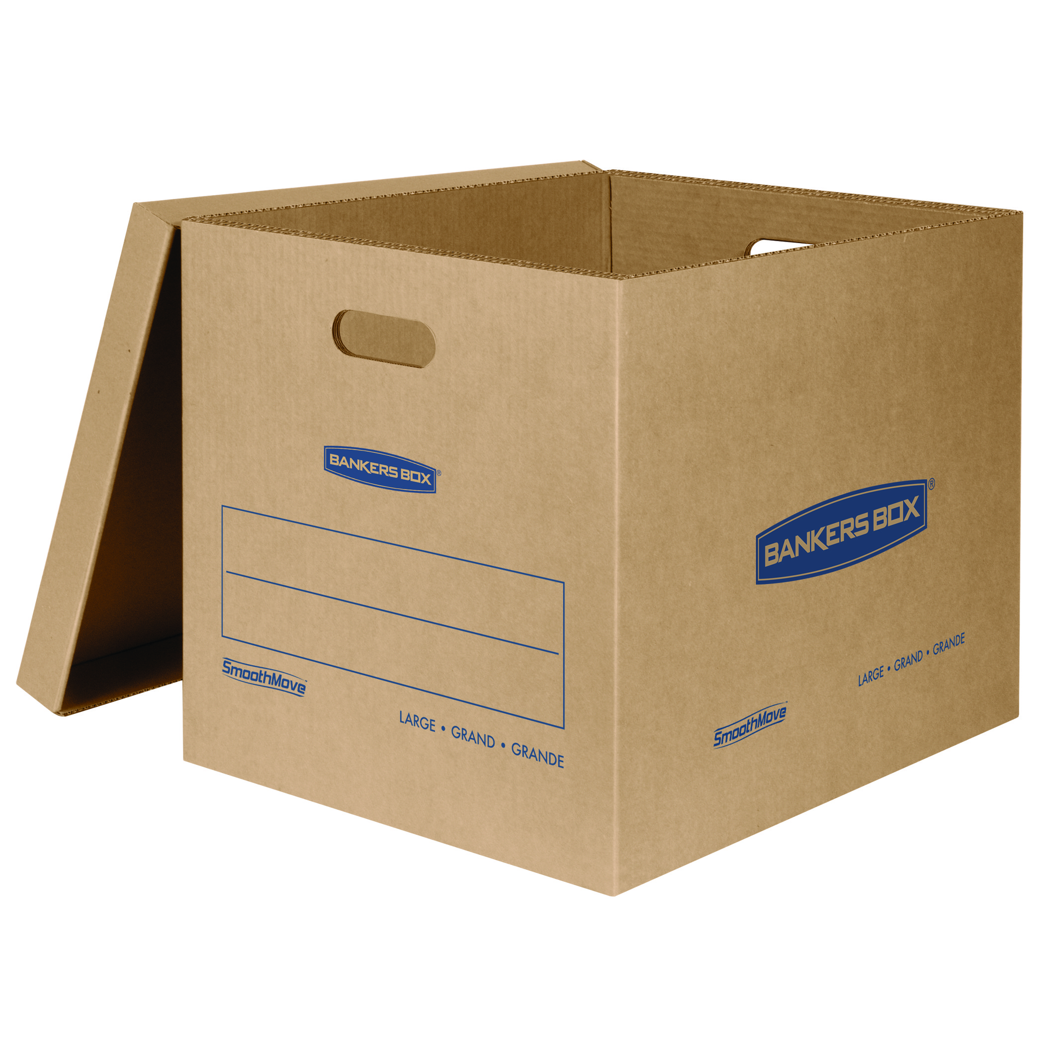 bankers box smoothmove classic moving boxes large