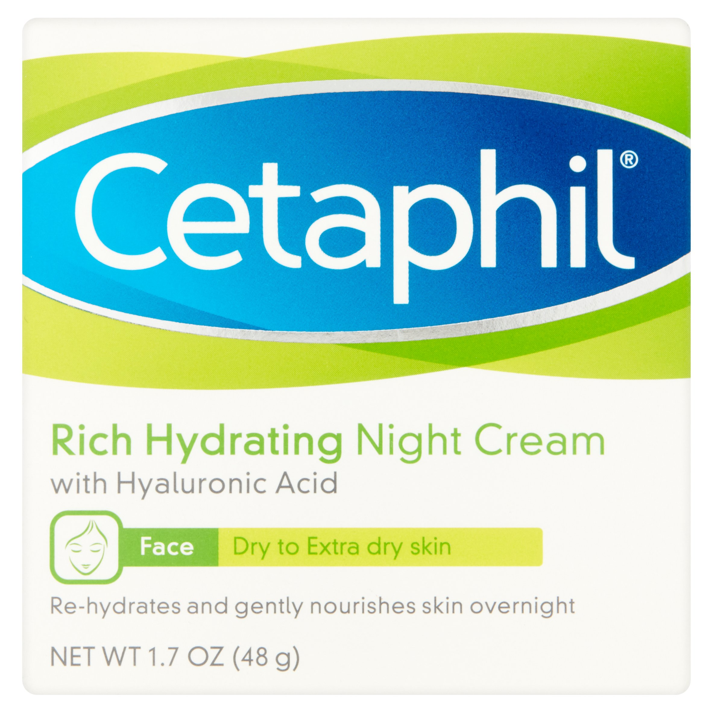 Cetaphil Rich Hydrating Night Cream, 1.7 oz
