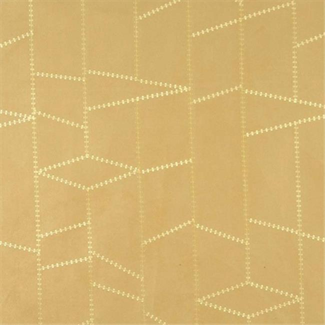 Designer Fabrics B136 54 in. Wide Gold Suede Upholstery Fabric