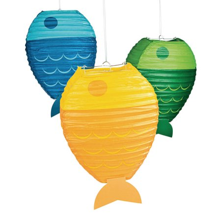 Little Fisherman Fish Paper Lantern (3)
