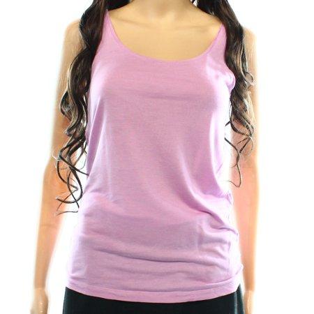 Ann Taylor Loft New Purple Womens Size Xs Tank Cami Scoop Neck Solid Top