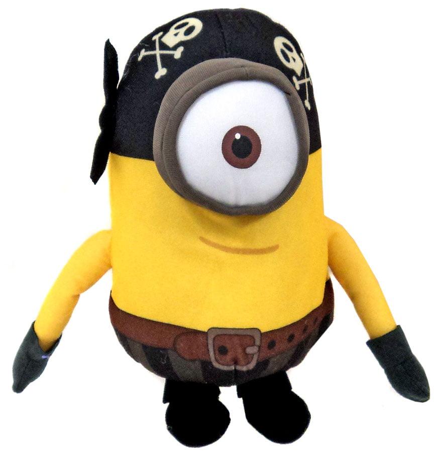 Despicable Me Minions Movie Pirate Minion Plush Figure Walmart Com