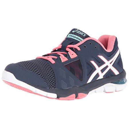 ASICS Women's Gel Craze TR 3 Cross Trainer Shoe, Dark NavyWhiteGuava, 6.5 M US