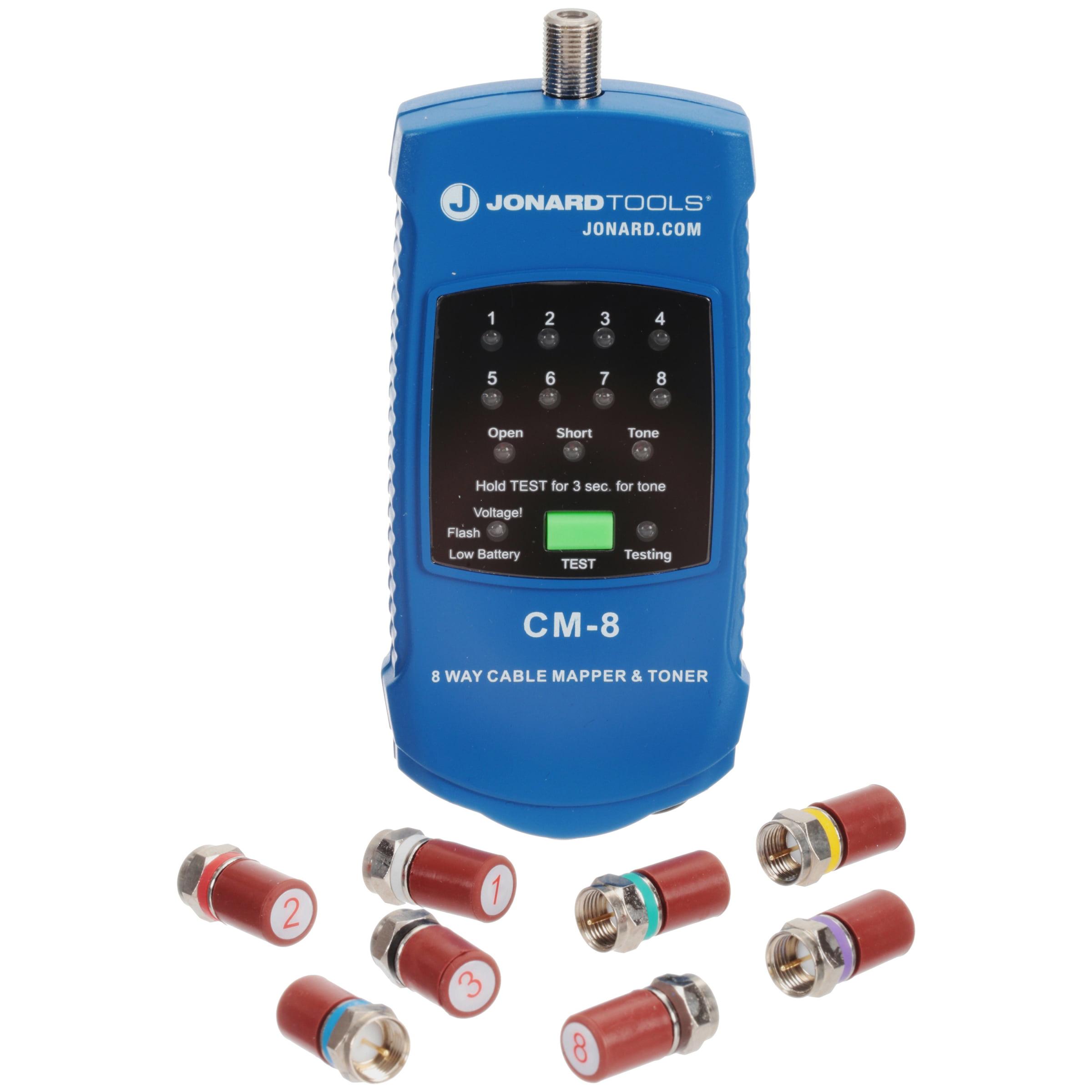 Jonard Tools® Cable Mapper & Toner 12 pc Box