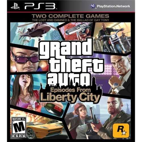 Grand Theft Auto: Episodes From Liberty City, Rockstar Games, PlayStation 3, 710425377808