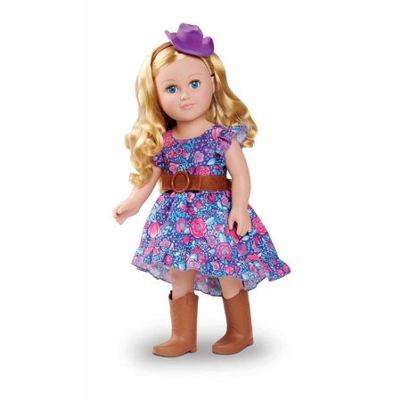 "My Life As 18"" Poseable Cowgirl Doll, Blonde Hair, Soft Torso"