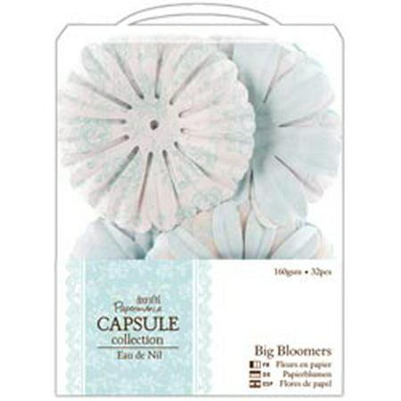 Bulk Buy Docrafts 3 Pack Papermania Eau De Nil Big Bloomers Paper