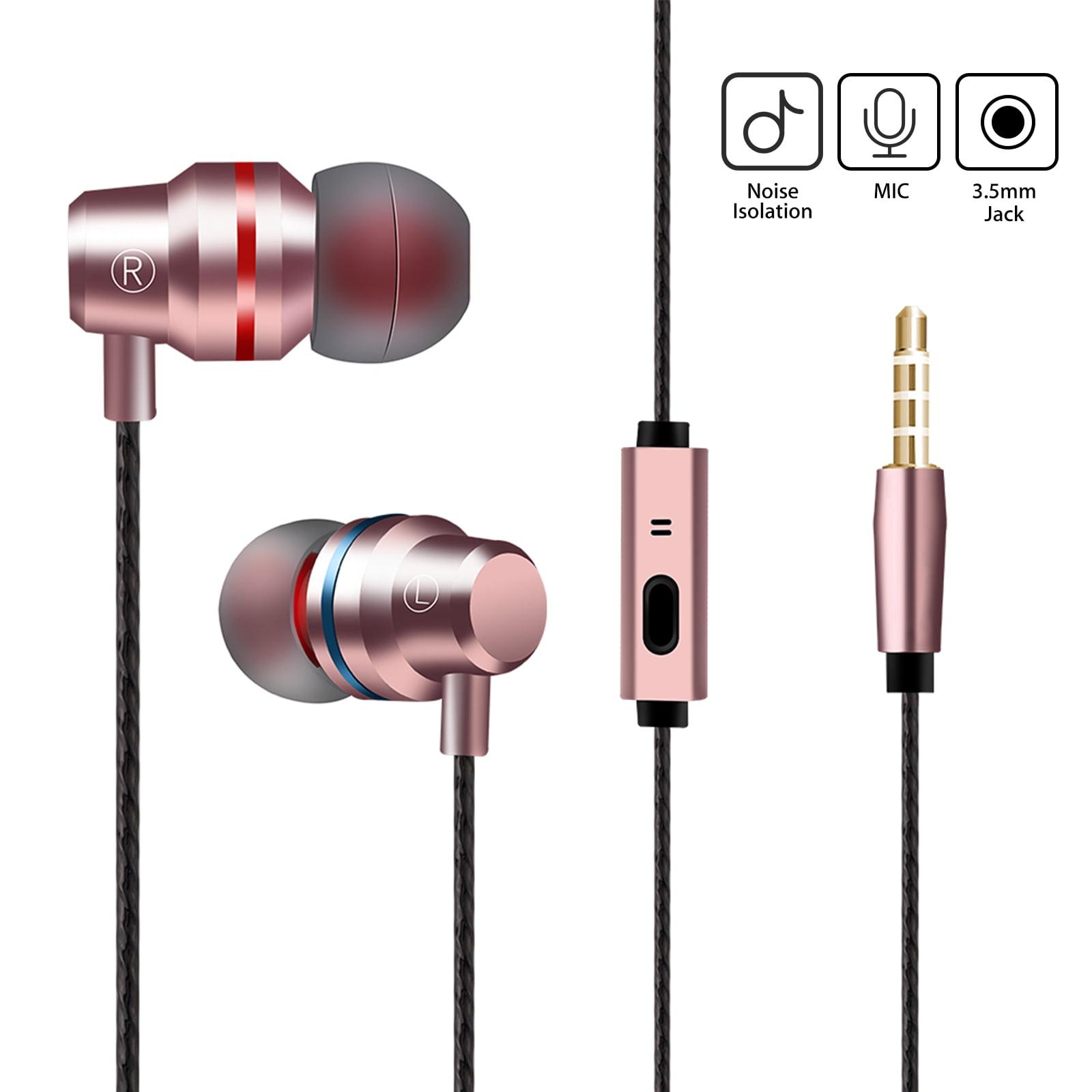 True Bass Stereo Headphone Earphone Sport Headset Hands Free Earbuds With Mic