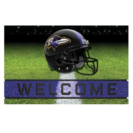 Baltimore Orioles Rug - Baltimore Ravens Crumb Rubber Door Mat
