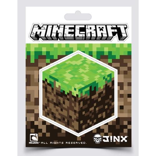Minecraft Dirt Block Sticker