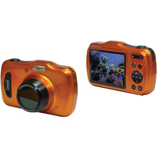 Coleman Orange C30wpz-o Xtreme4 HD Video Waterproof Digital Camera by Coleman