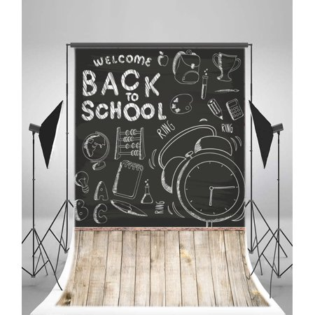 greendecor polyster 5x7ft photography backdrops welcome back to