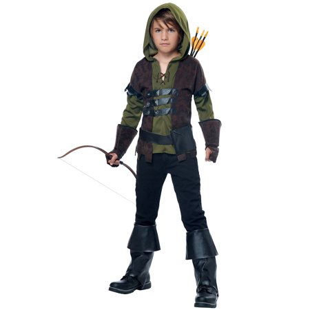 Robin Hood Child Halloween Costume - Dc Robin Costume