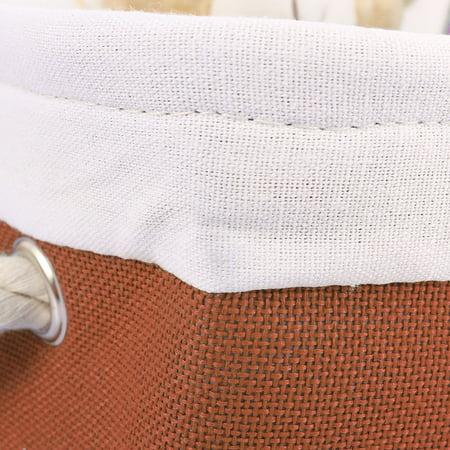 Panier rangement pliable Sac rangement coffre à jouets sacs suspendus - image 6 de 7