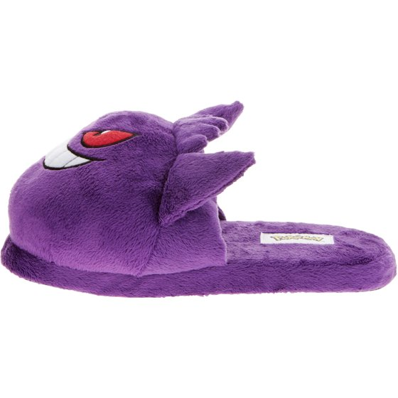 f7720b3cd2b3 Pokemon - Pokemon Men s Gengar Slipper - Walmart.com