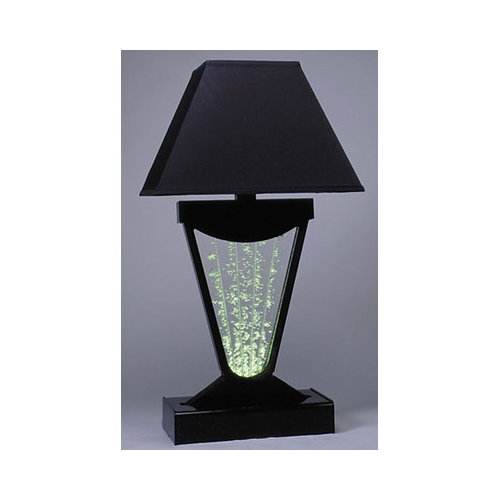 Midwest Tropical Fountain Vase Fountain Table Lamp