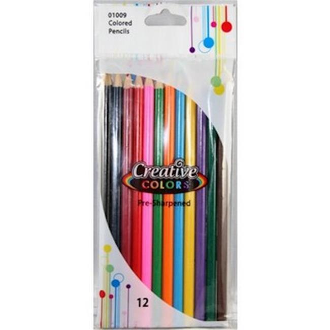 YDB Coloring Pencils, 12 Count - Case of 48