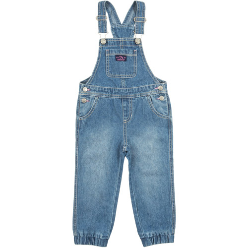 c4965710e2d Jordache - Newborn Baby Girl Denim   Print Button Back Romper - Walmart.com