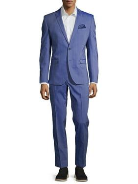 "Nick Graham Slim Fit Pre-Tailored 32"" Bottom Suit"