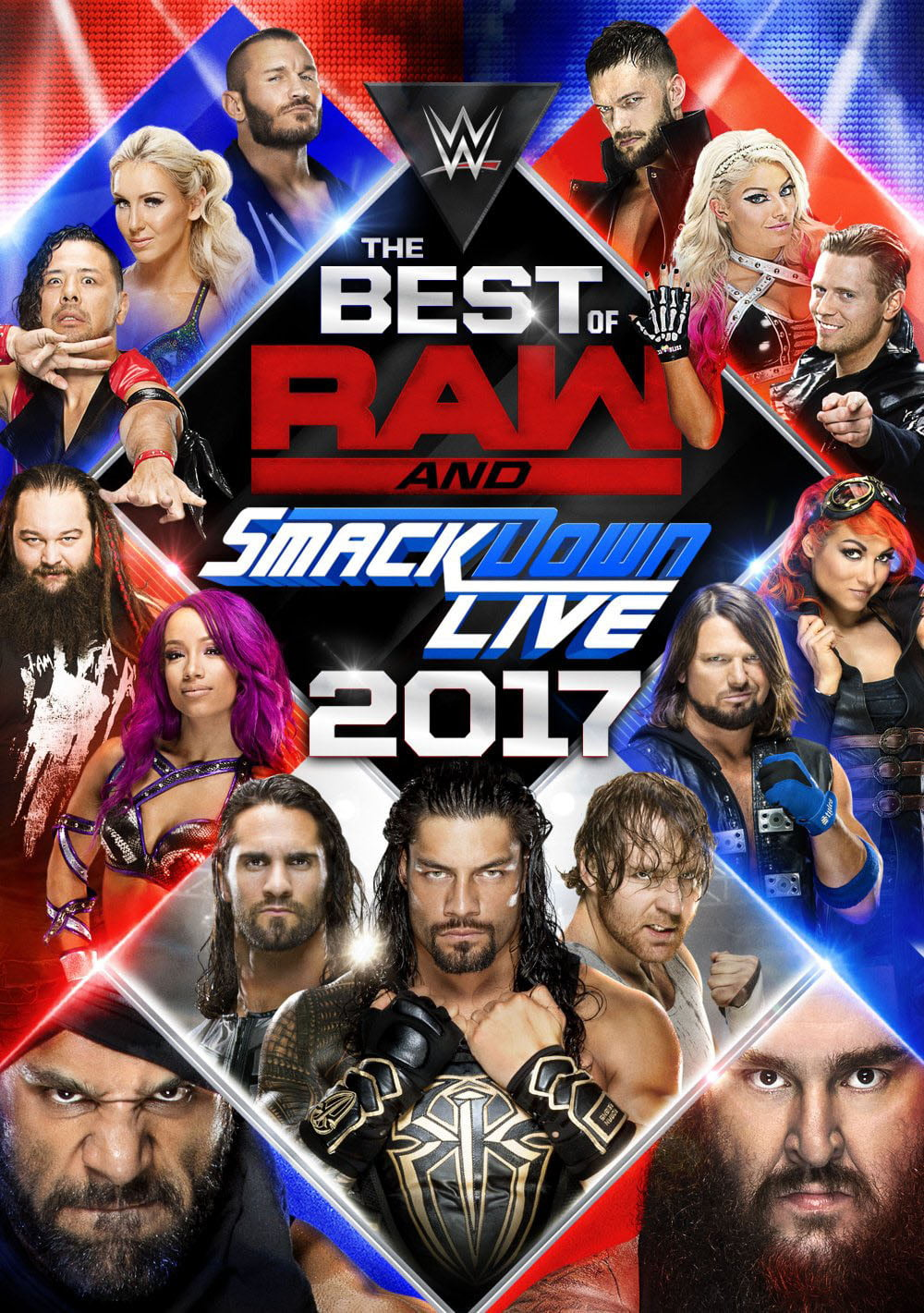 WWE: The Best of Raw and SmackDown Live 2017 (DVD) by